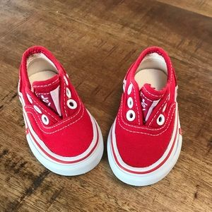 Levi's toddler shoes size 4